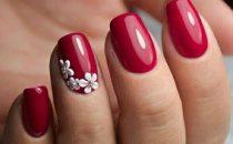 بالصور: أفكار رائعة لتزيين الأظافر بالطلاء الأحمر