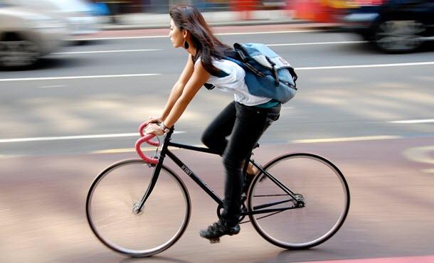 سياقة الدراجة