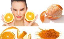 ماسكات قشور البرتقال لتفتيح البشرة