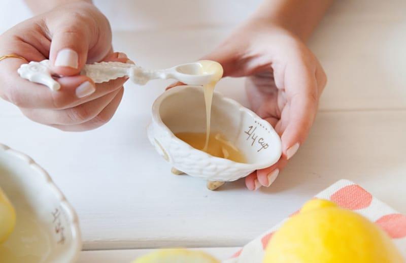 قناع العسل للشعر
