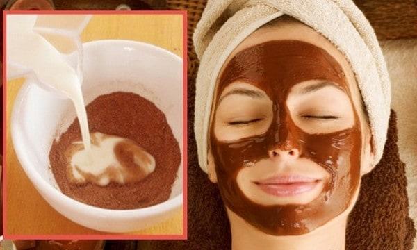 قناع الكاكاو لترطيب البشرة الجافة والتخلص من التجاعيد