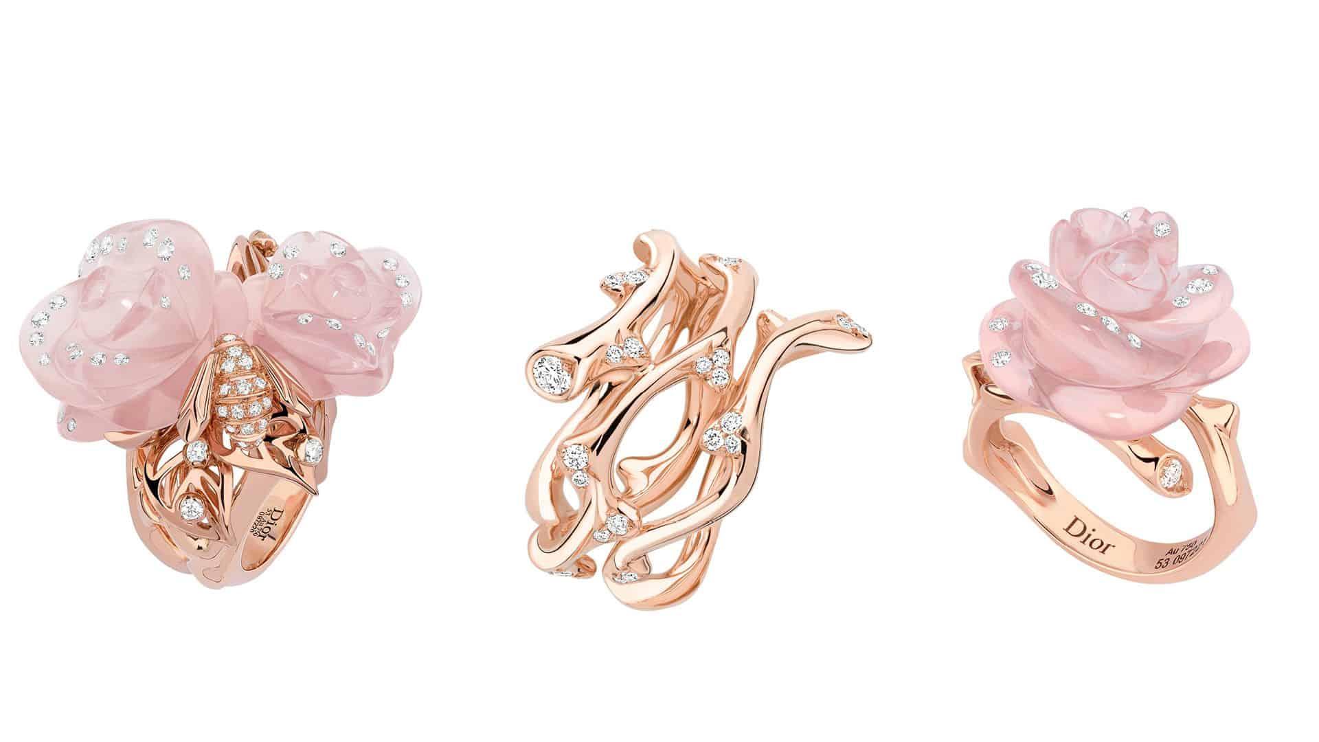 مجموعة جديدة من La Rose Dior في عيدها الـ70