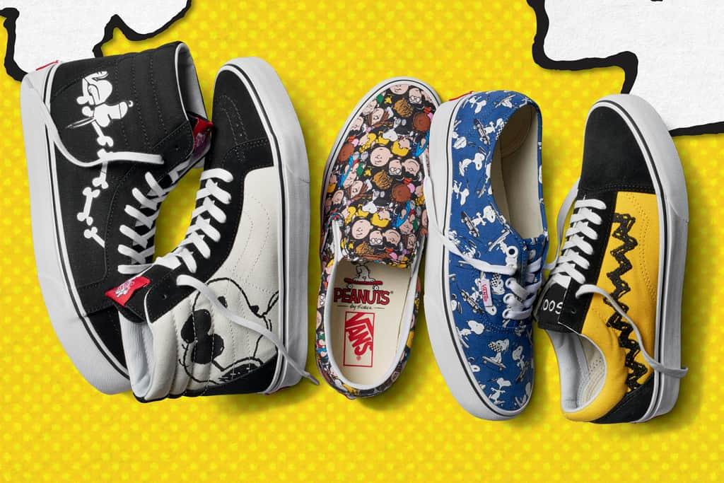 أحذية Vans x Peanuts لربيع وصيف 2017