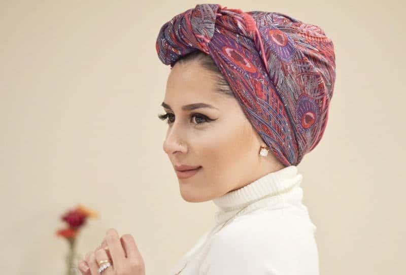 لفات حجاب أنيقة لموسم العيد