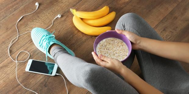 الأطعمة المناسبة قبل ممارسة الرياضة