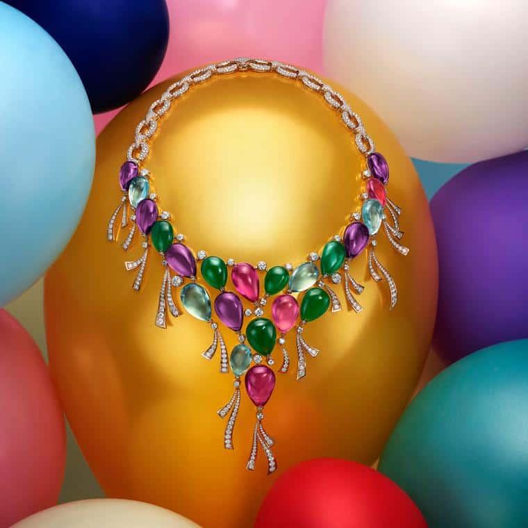 مجموعة مجوهرات Festa الفاخرة من بولغاري