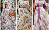 للمحجبات: الفساتين المنقوشة موضة كروز 2018