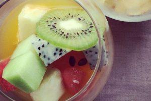 أشهى سلطة فواكه بالعصير