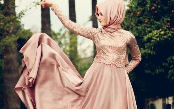 للمحجبات: أجمل موديلات فساتين الخطوبة لهذا العيد