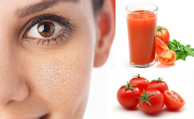 الطماطم للبشرة