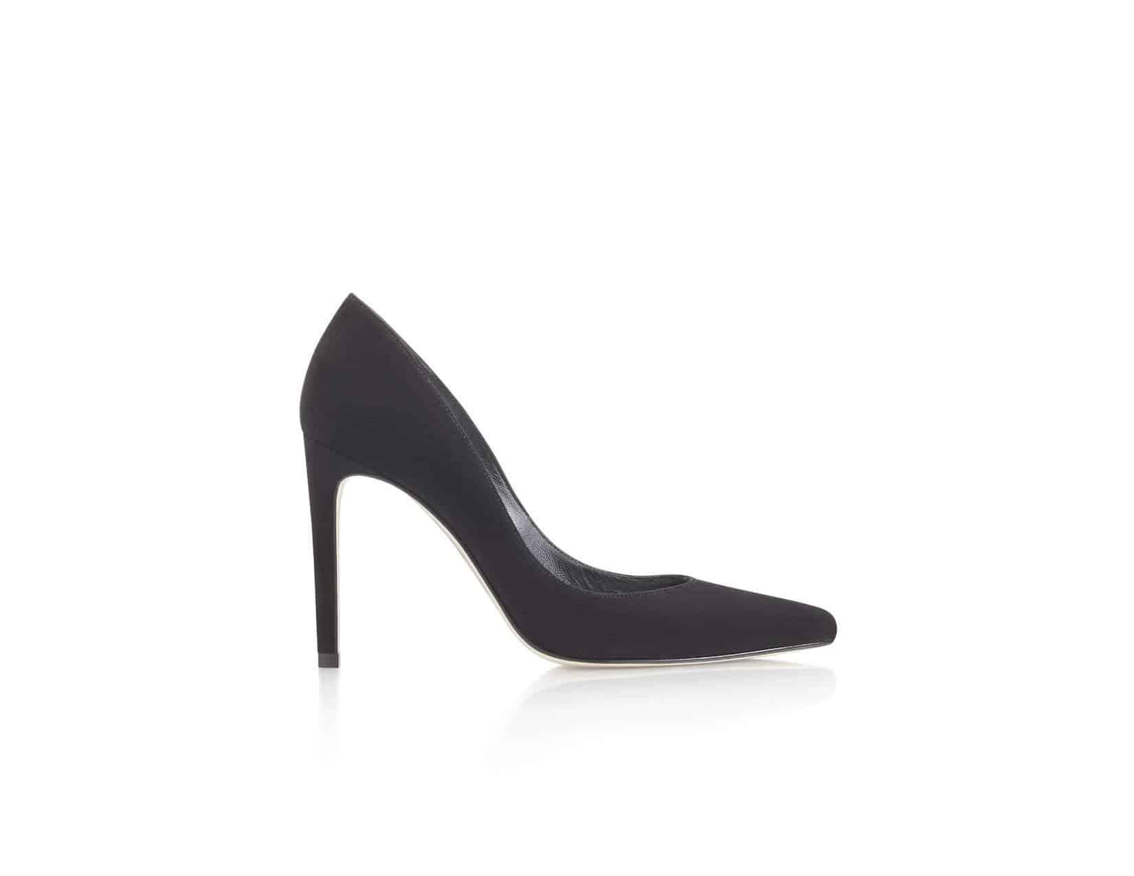 حذاء أسود