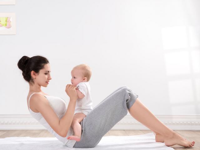 نصائح لاستعادة رشاقتك بعد الولادة