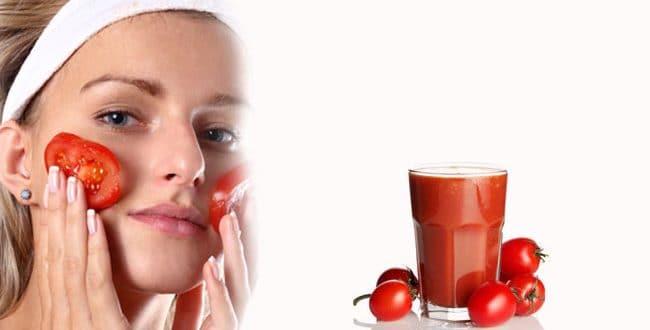 وصفات الطماطم لبشرة خالية من العيوب