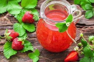 عصير فراولة لذيذ وسريع التحضير
