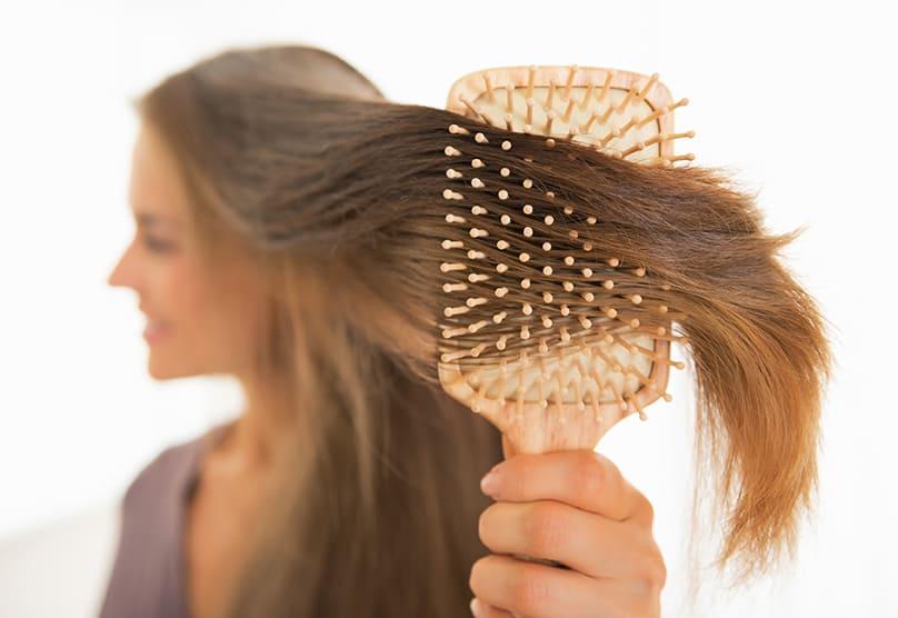 علاج ماء جوز الهند والليمون للحد من تساقط الشعر