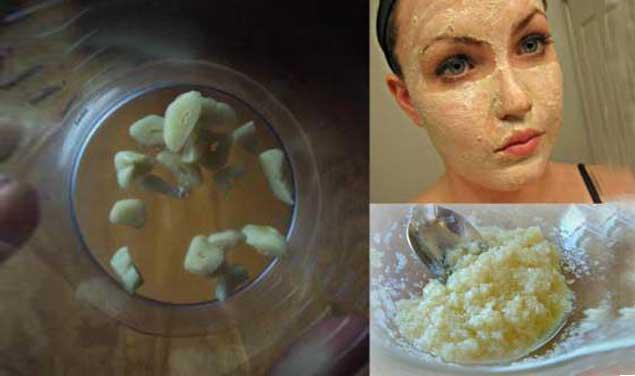 قناع الثوم لإزالة السموم وتجديد جمال البشرة