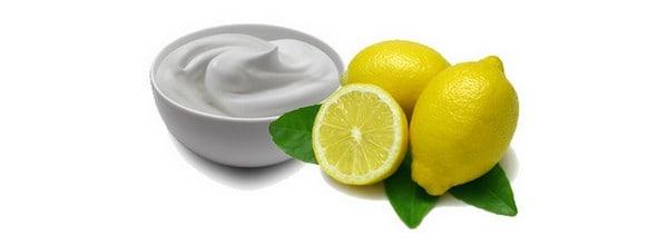قناع الزبادي والليمون للعناية ببشرتك