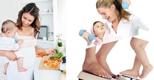 كيف أنقص من وزني بعد الولادة؟
