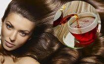 وصفات الشاي الطبيعية لتلوين الشعر