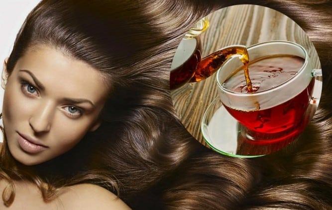 جربي وصفات الشاي الطبيعية لتلوين الشعر