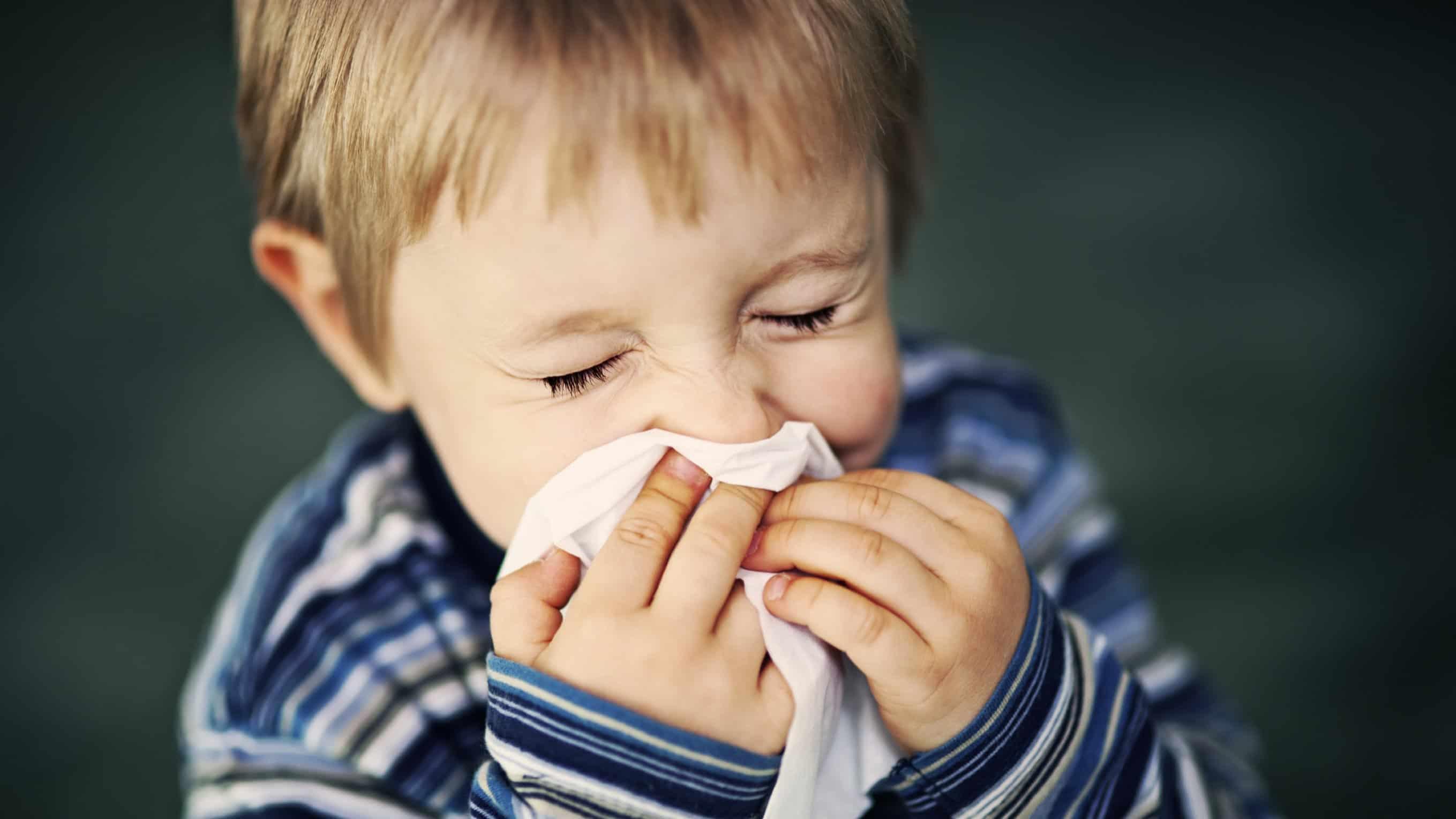 نزلات البرد عند الأطفال