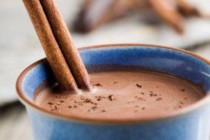 شراب الكاكاو الساخن في عيد الحب