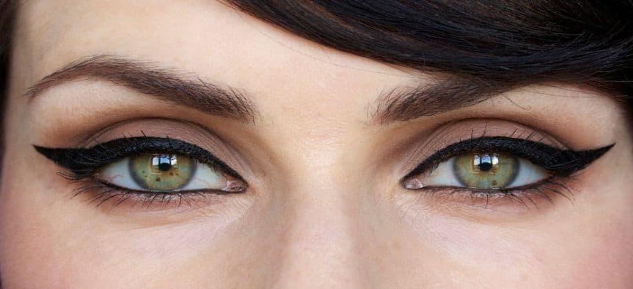 العين الصغيرة بالكحل