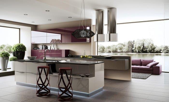 أجمل تصاميم الكراسي العالية للمطابخ العصري