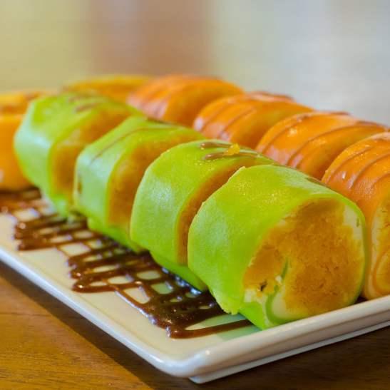 جاتوه السوشي بالفاكهة للمناسبات