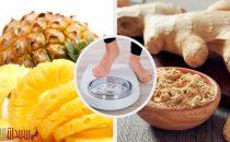 مشروب الأناناس والزنجبيل للتخلص من الوزن الزائد