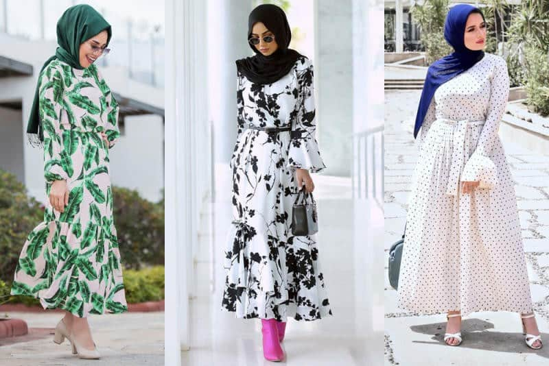 أجمل موديلات الفساتين الطويلة للمحجبات