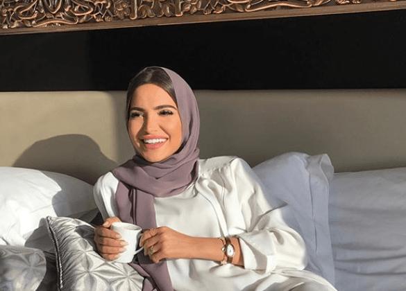 لفات حجاب نيود لإطلالة رمضانية ناعمة