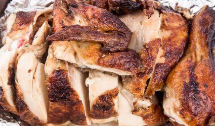 طريقة تجهيز دجاج مشوي بالقصدير