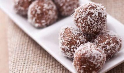 كرات الشوكولات اللذيذة وسهلة التجهيز