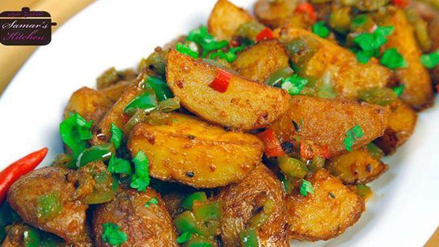 طريقة لذيذة لتجهيز البطاطا الحارة