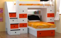 أفكار مميزة لاستعمال أسرّة الأطفال للغرف الصغيرة