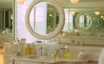 بالصور: اكتشفي أحدث تصاميم المرايا لديكور حمام مميز