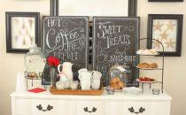 بالصور: أفكار ديكور لتصميم مساحة خاصة بالقهوة