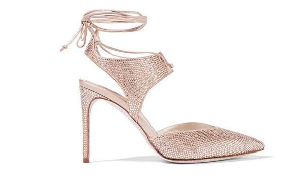 اكتشفي أجمل موديلات أحذية العروس لصيف 2018