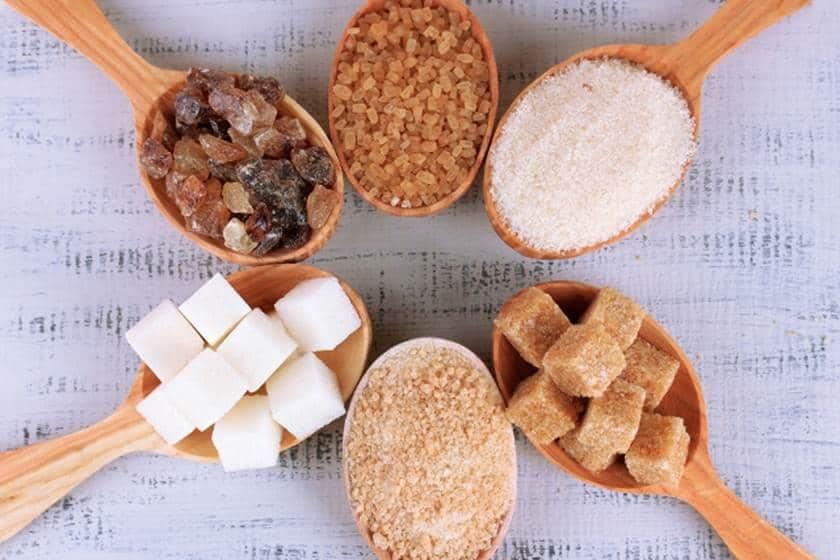 أنواع السكر