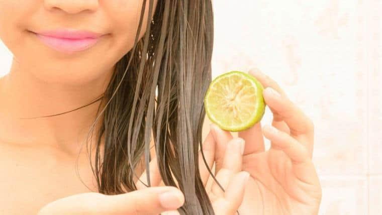 الليمون لعلاج قشرة الشعر