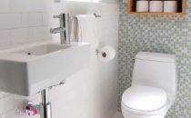 بالصور: هكذا تحصلين على ديكور حمام مميز للمساحات الضيقة