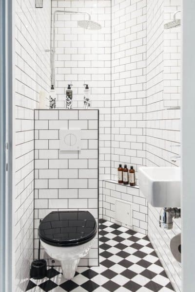 1c04c26dc بالصور: هكذا تحصلين على ديكور حمام مميز للمساحات الضيقة   مجلة سيدات ...