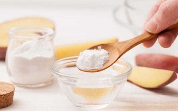ماسك بيكربونات الصوديوم لتفتيح البشرة الدهنية و الجافة و الحساسة