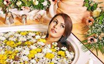 جربي حمام الأعشاب لتنقية الجسم والبشرة من السموم