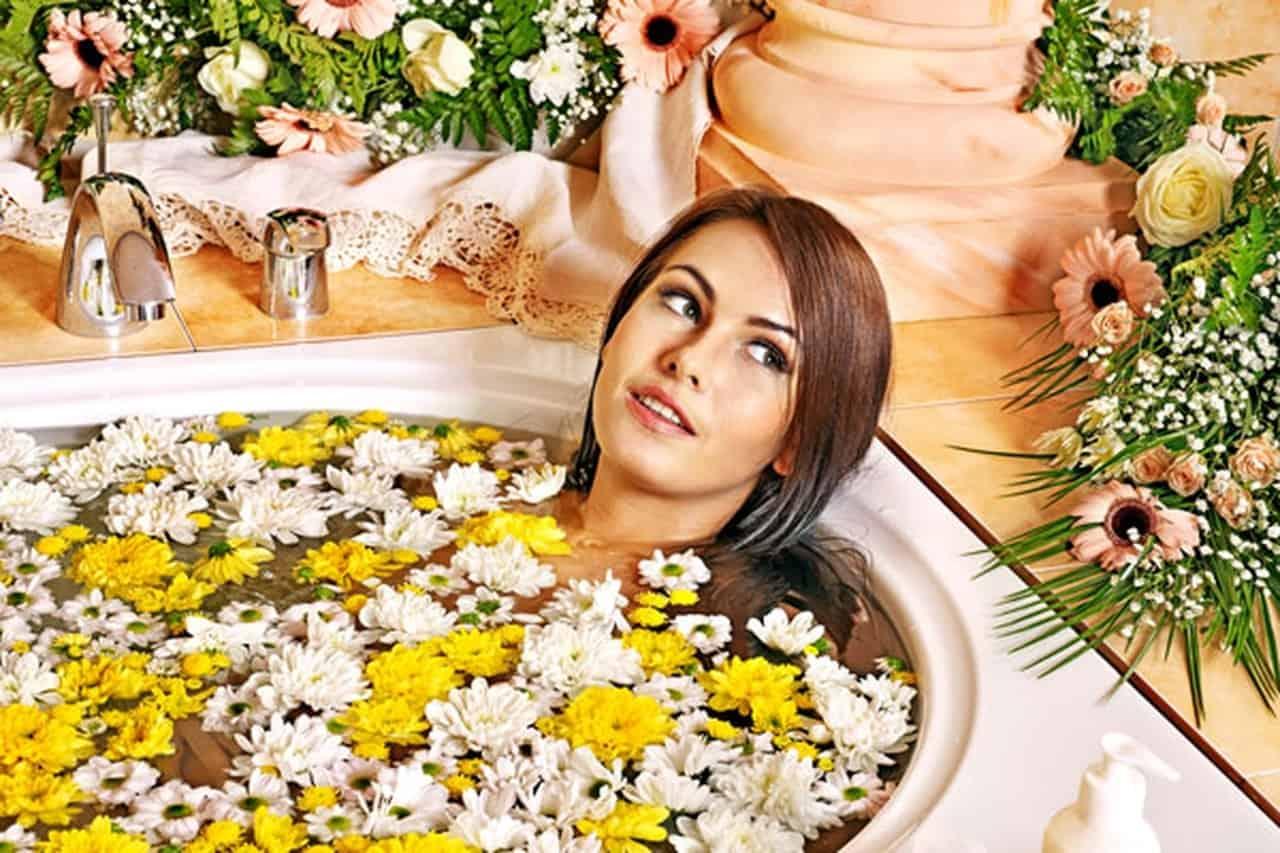 حمام الأعشاب