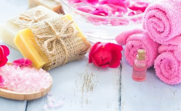 صابون الورد و الألوفيرا