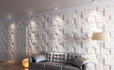 جدران ثلاثية الأبعاد