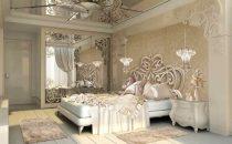 بالصور: تصاميم غرف نوم فاخرة مفعمة بالرومانسية