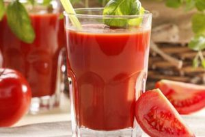 عصير الطماطم لتعزيز دفاعات الجسم